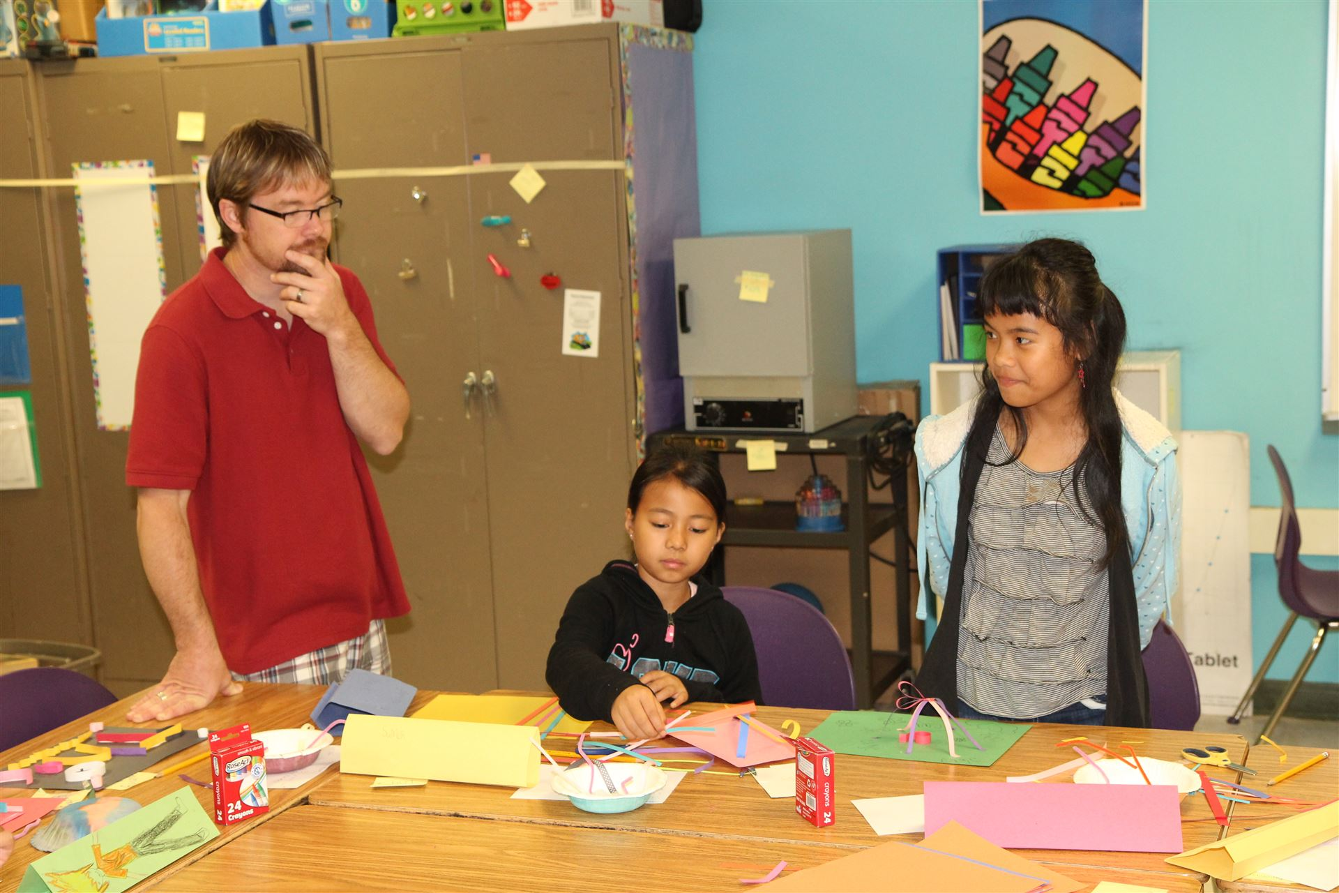 English Learners Camp at Warren Elementary