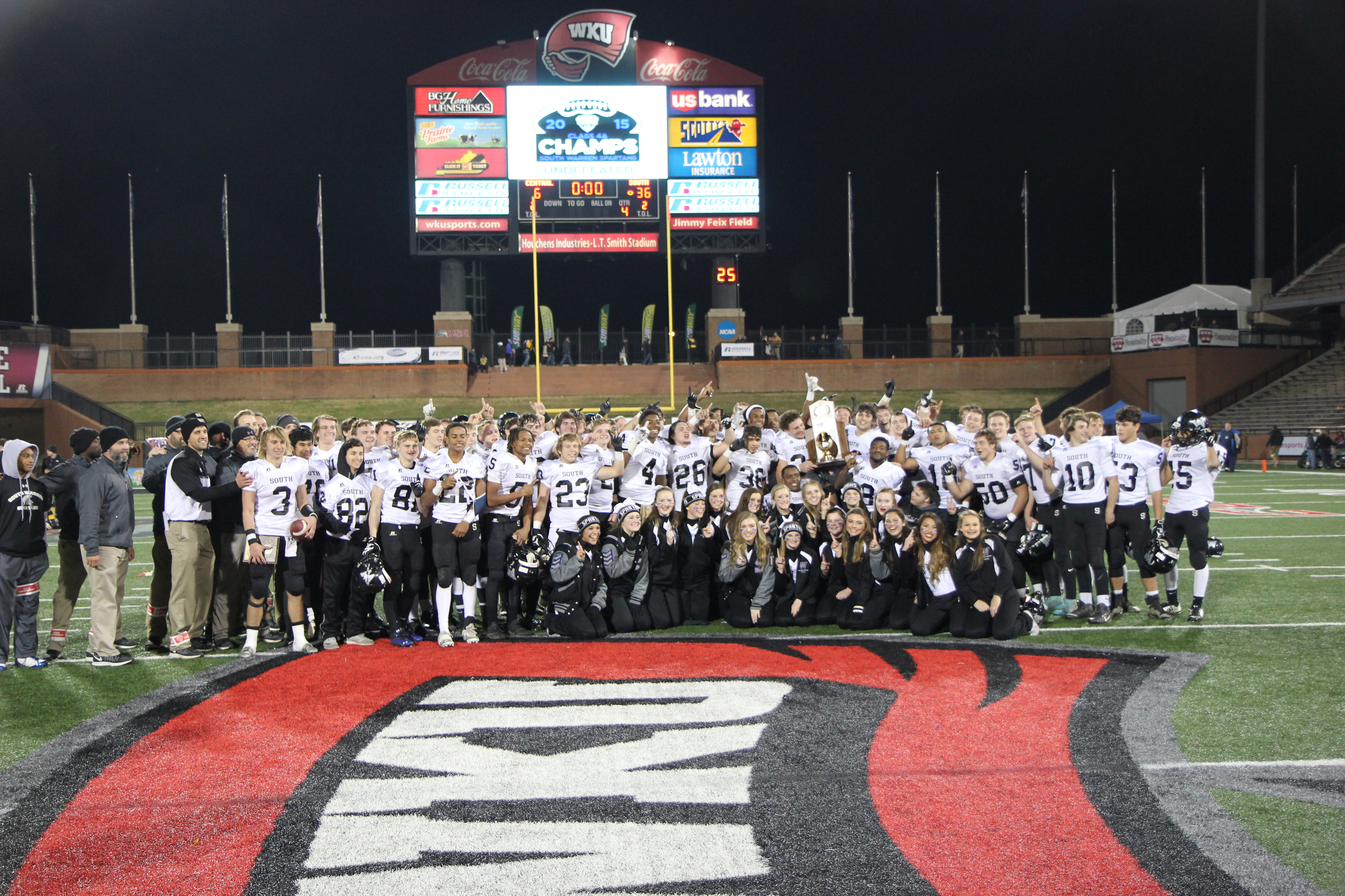 South Warren wins state football championship