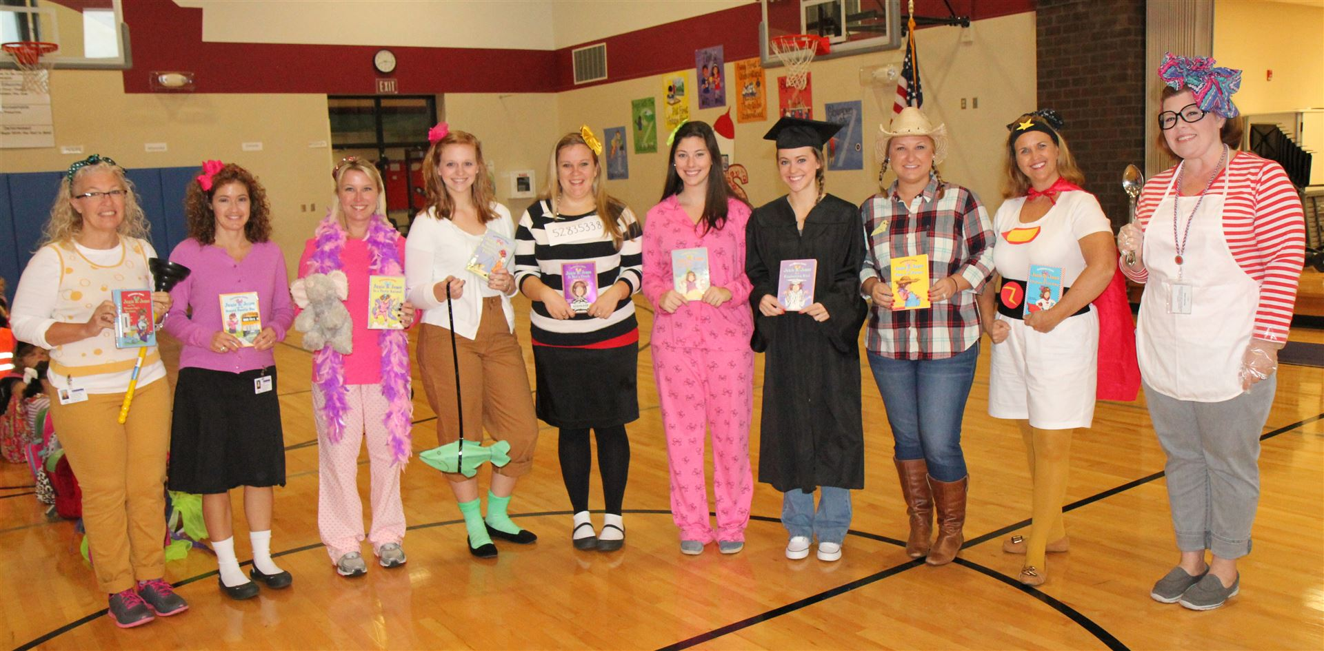 Dress Like a Book Cover Day at JRES