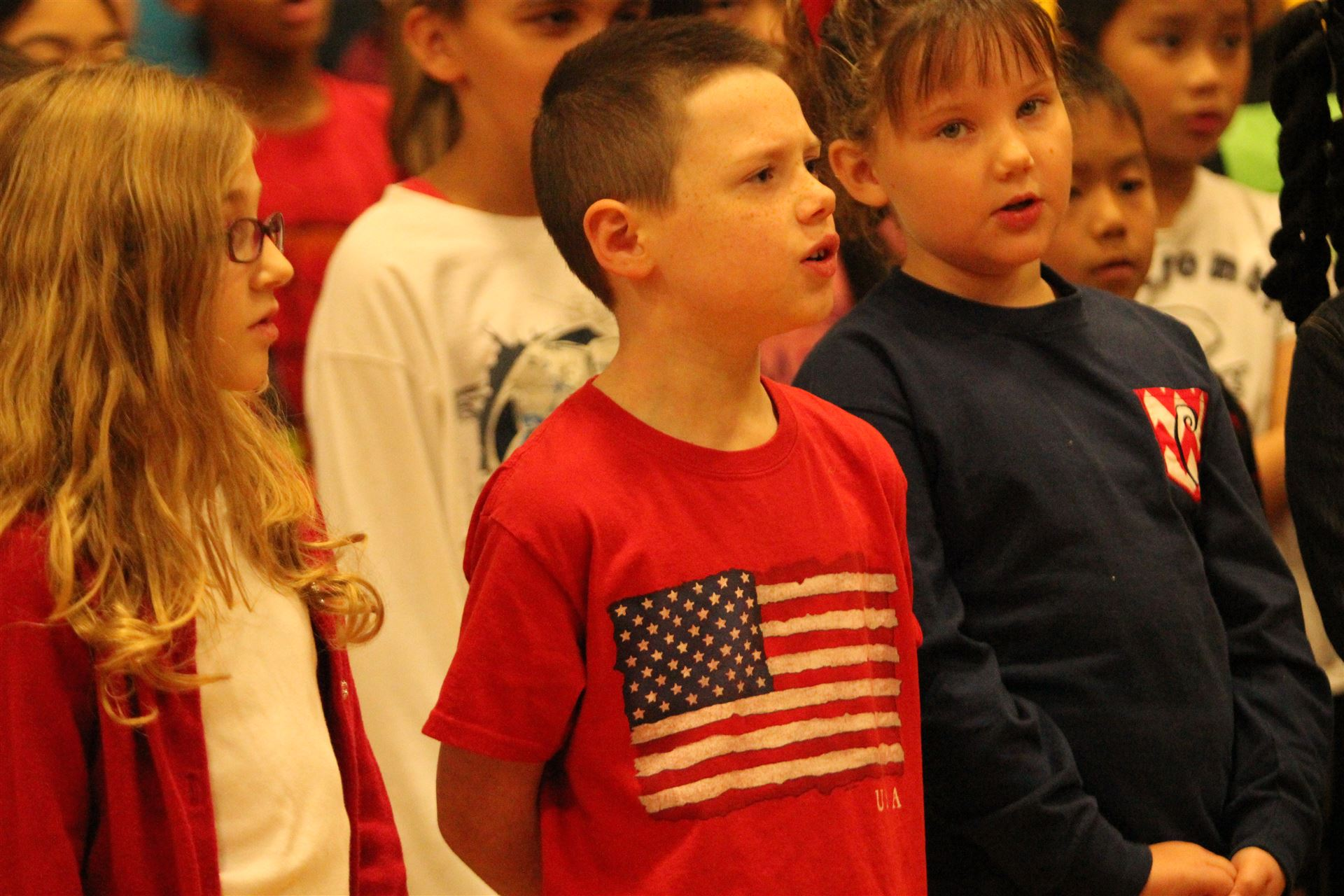 Veterans Day at Natcher Elementary