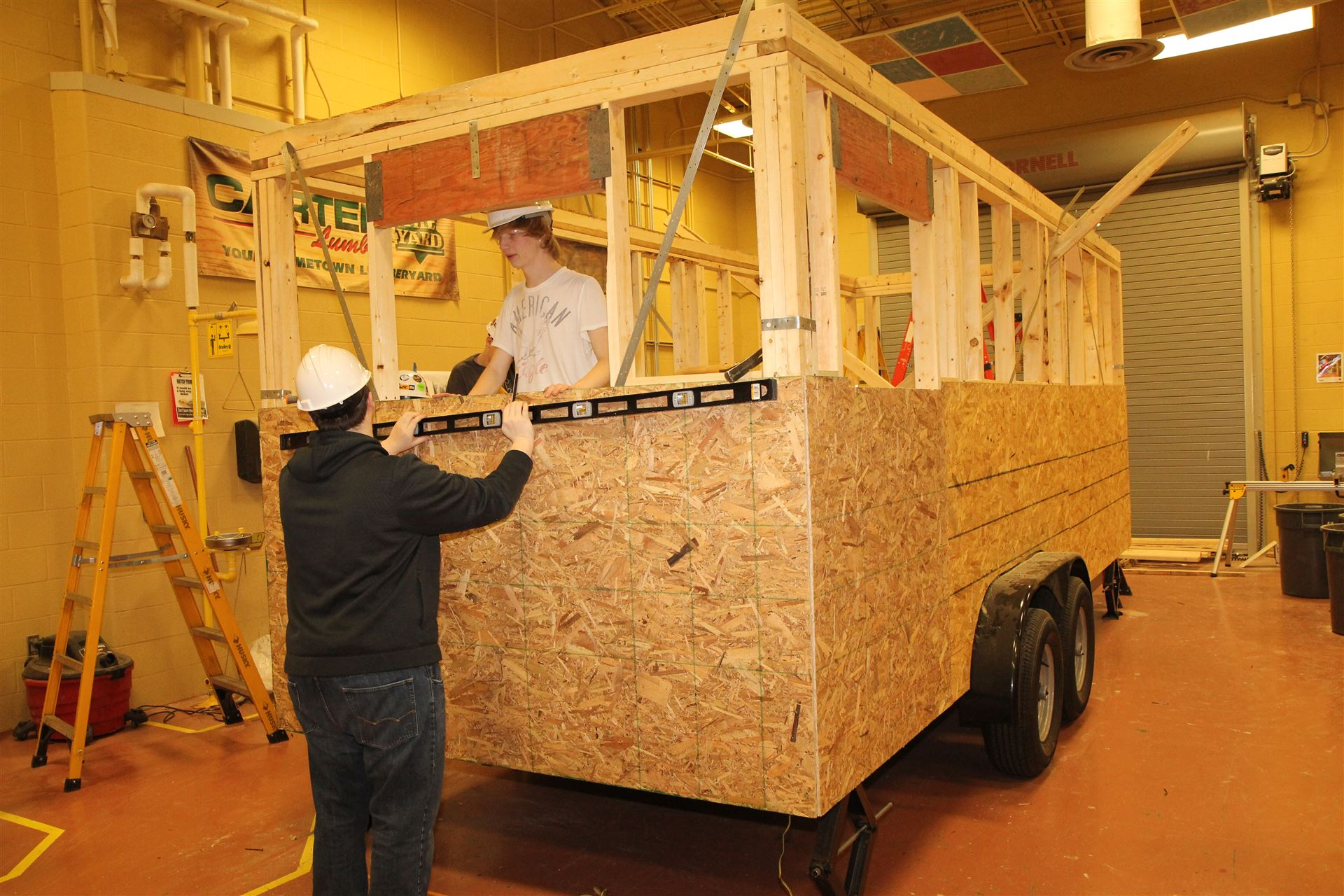 """Tiny House"" project at Warren County ATC"