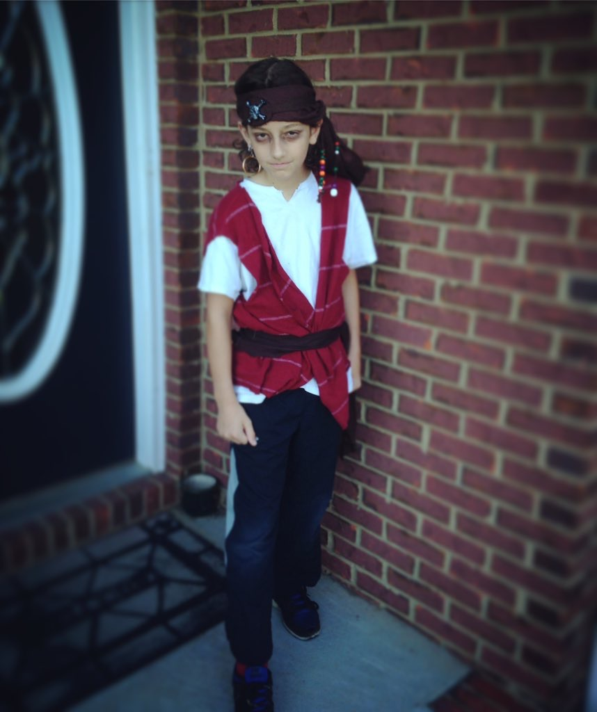 2016 Fall Book Fair Pirate Day
