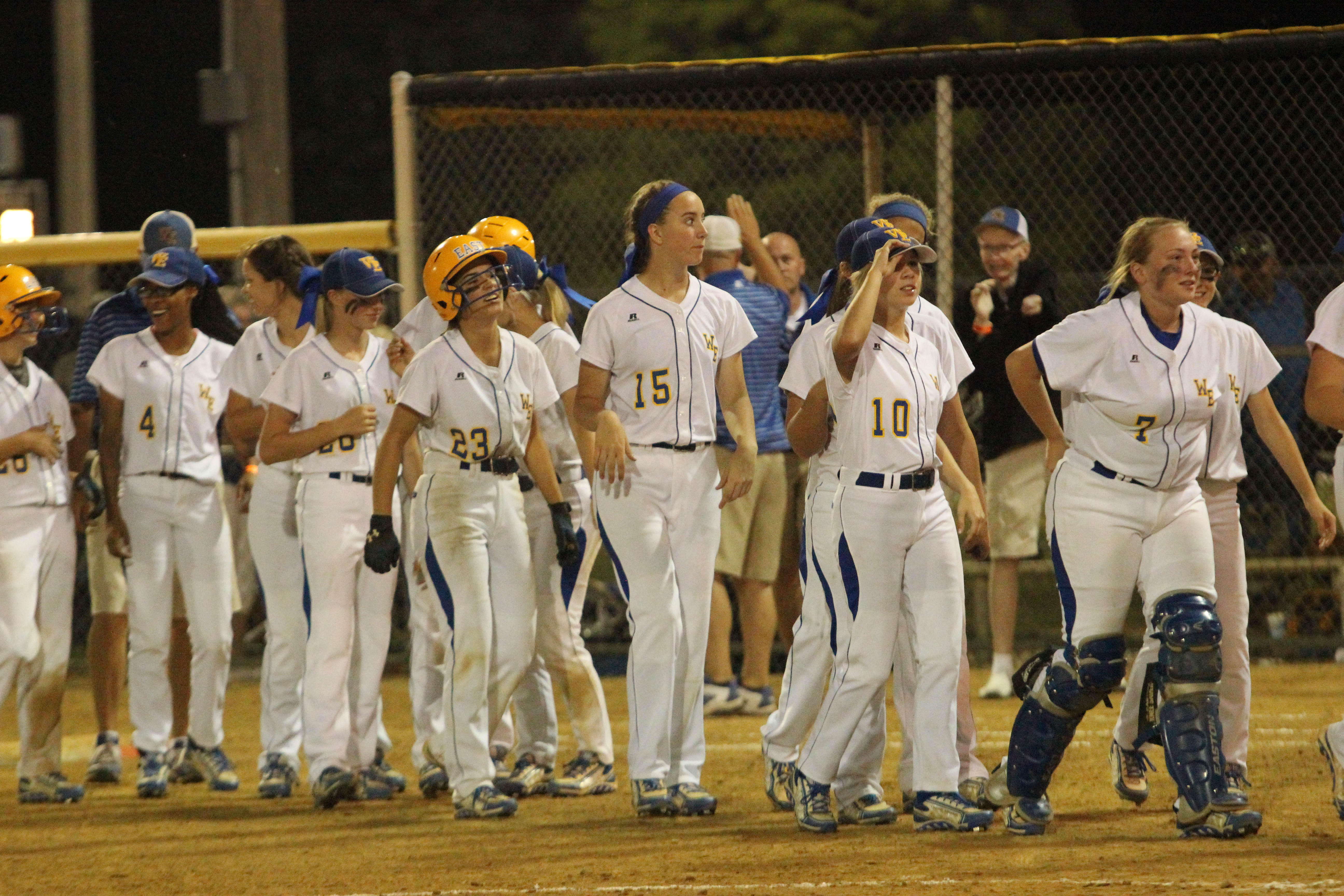 Warren East in state softball tournament