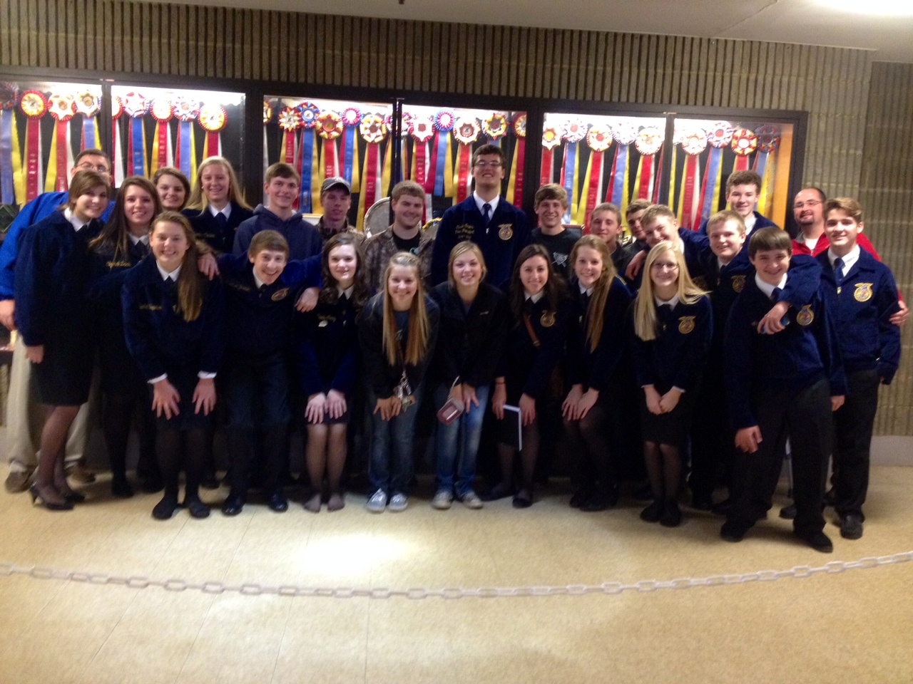 South Warren HS FFA at regional competition