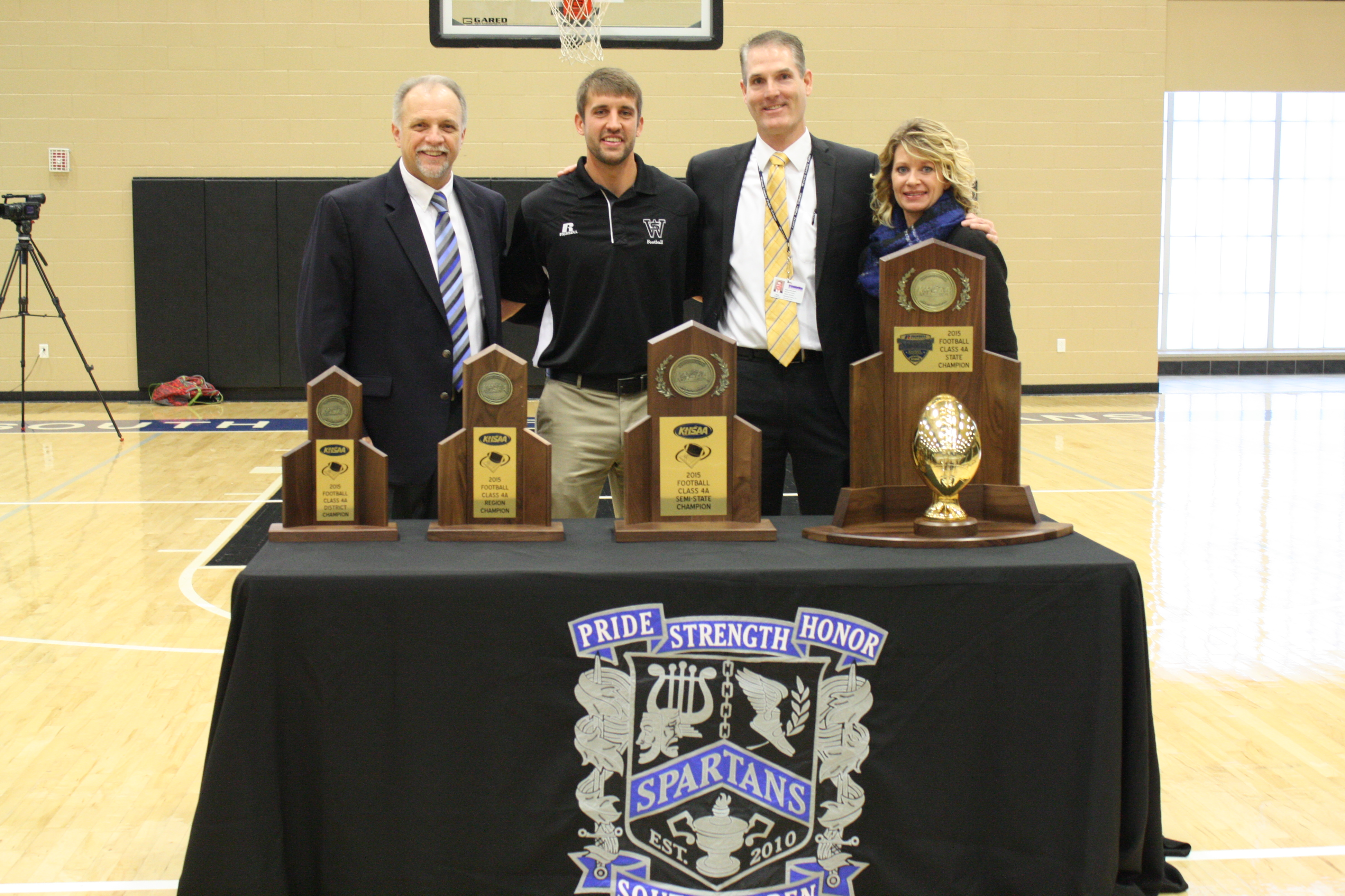 SWHS State Championship Celebration
