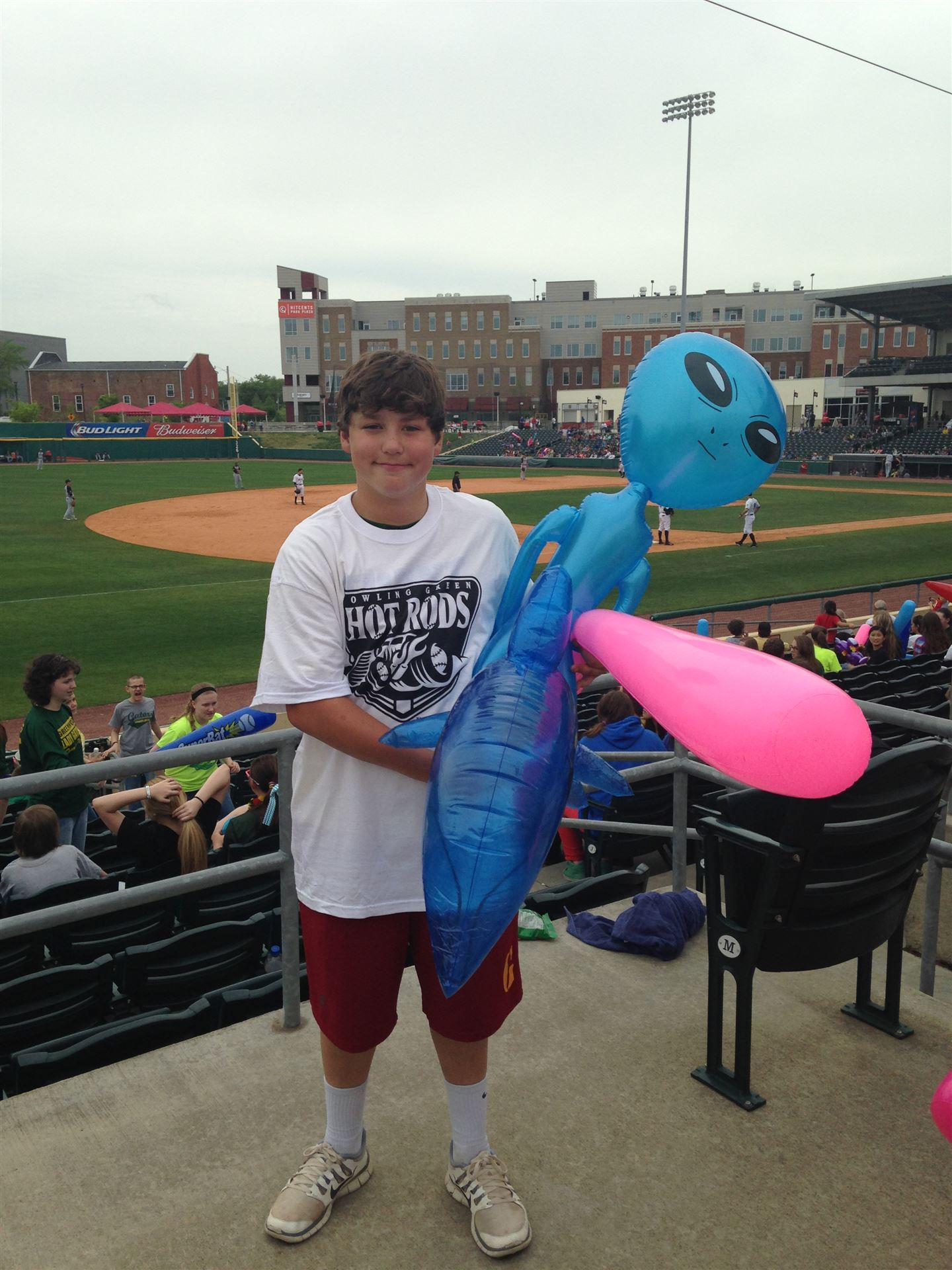 Hot Rods Game 2014