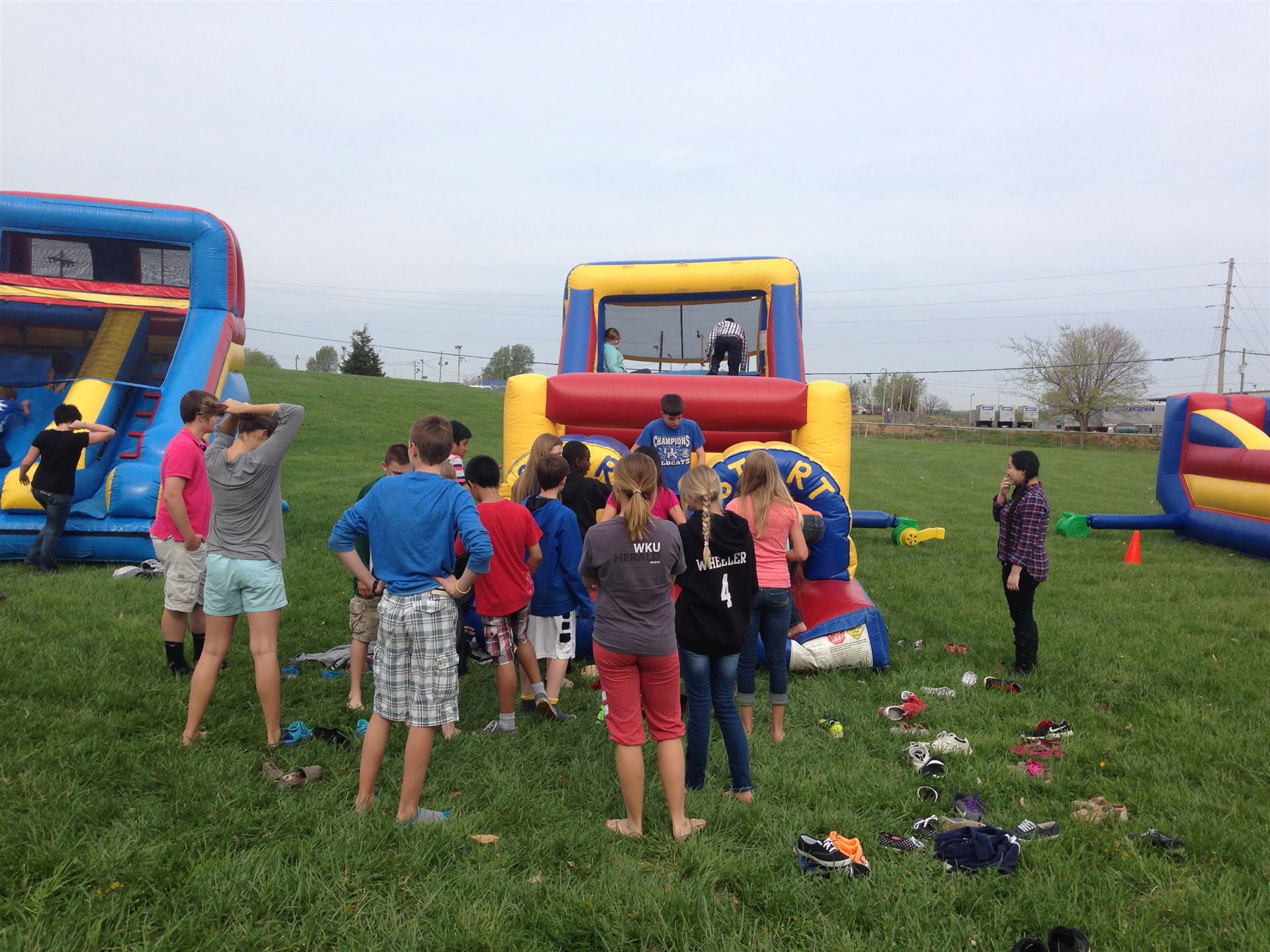 Inflatables at DCMS April 2014