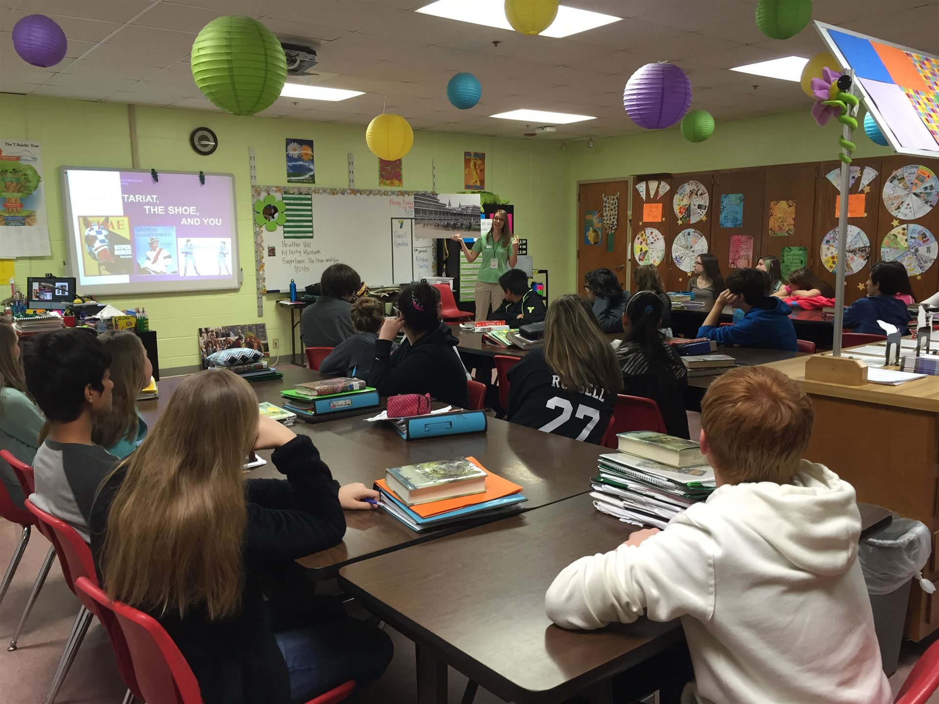 FCS classes learn about the Kentucky Derby