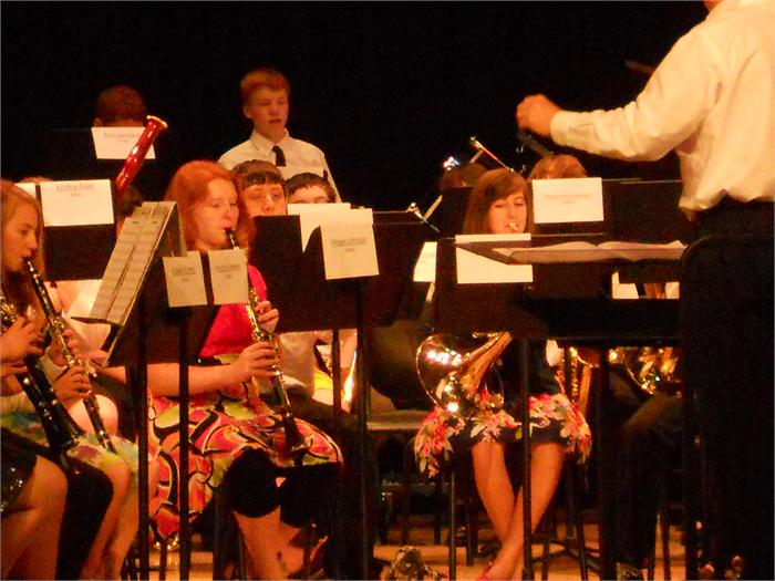 BG/WC Middle School Honors Band