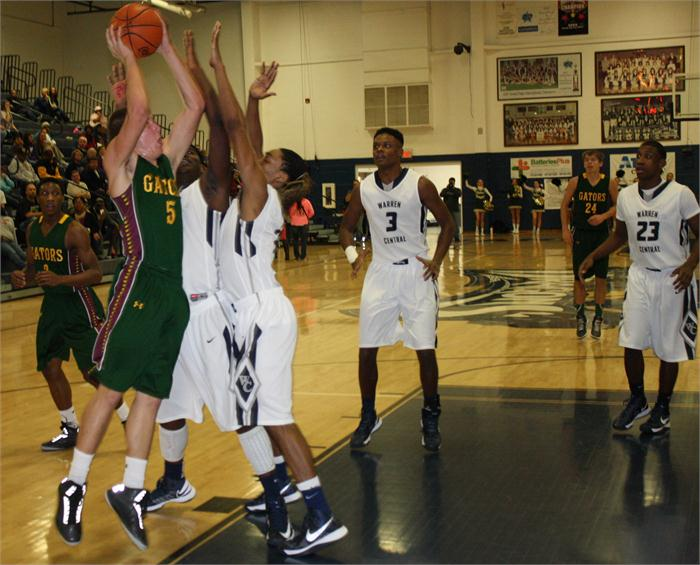 Greenwood boys' basketball at Warren Central