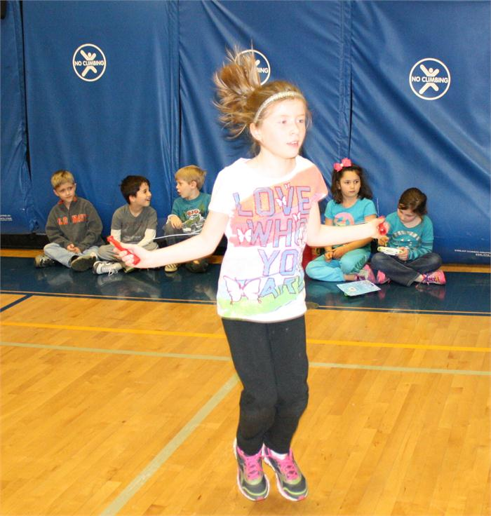 Jump Rope for Heart at Natcher