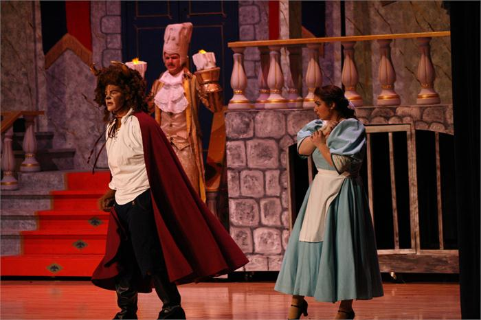 """Beauty and the Beast"" at South Warren"
