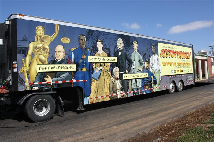 HistoryMobile comes to Rich Pond