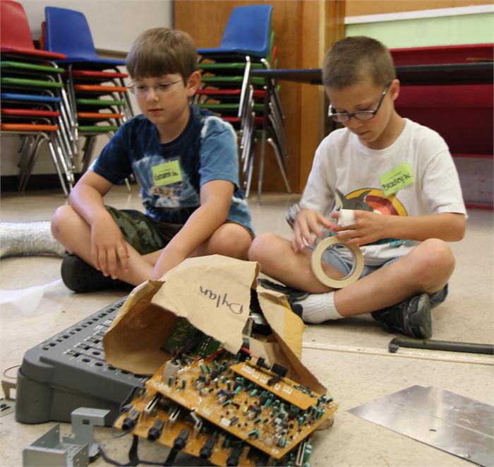 Camp Invention at Rich Pond Elementary