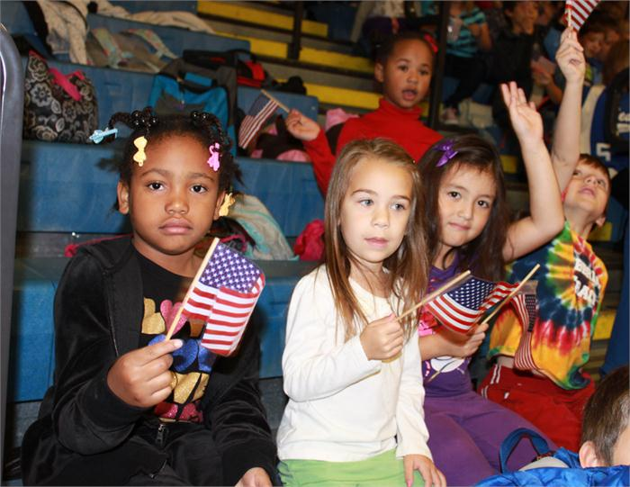 Veterans Day celebration at Cumberland Trace