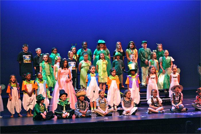 "Lost River Elementary performs ""Oz"" at Skypac"