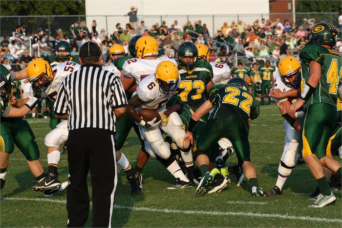 Greenwood football vs. Trousdale County