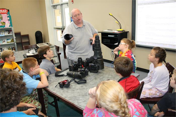 Bristow STLP students learn photography