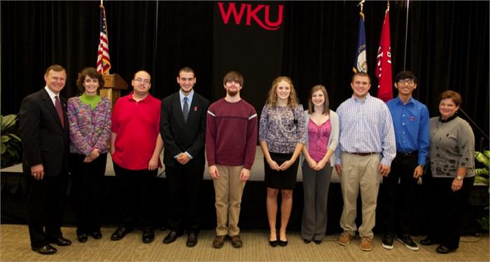 WKU honors 65 WCPS seniors at Scholars Luncheon