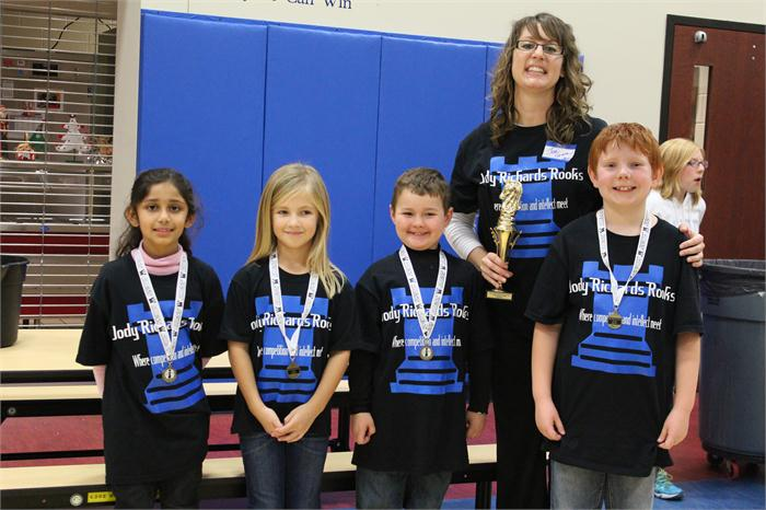 Chess Team Hosts Successful Tournament