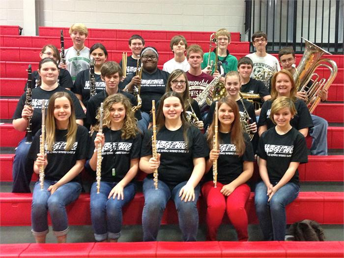 Bowling GReen/Warren County Middle School Honors Band