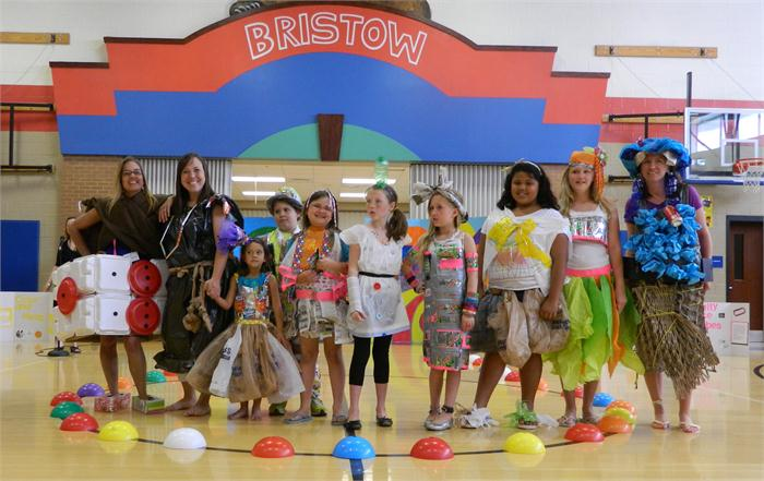 Bristow Elementary Recycled Fashion Show