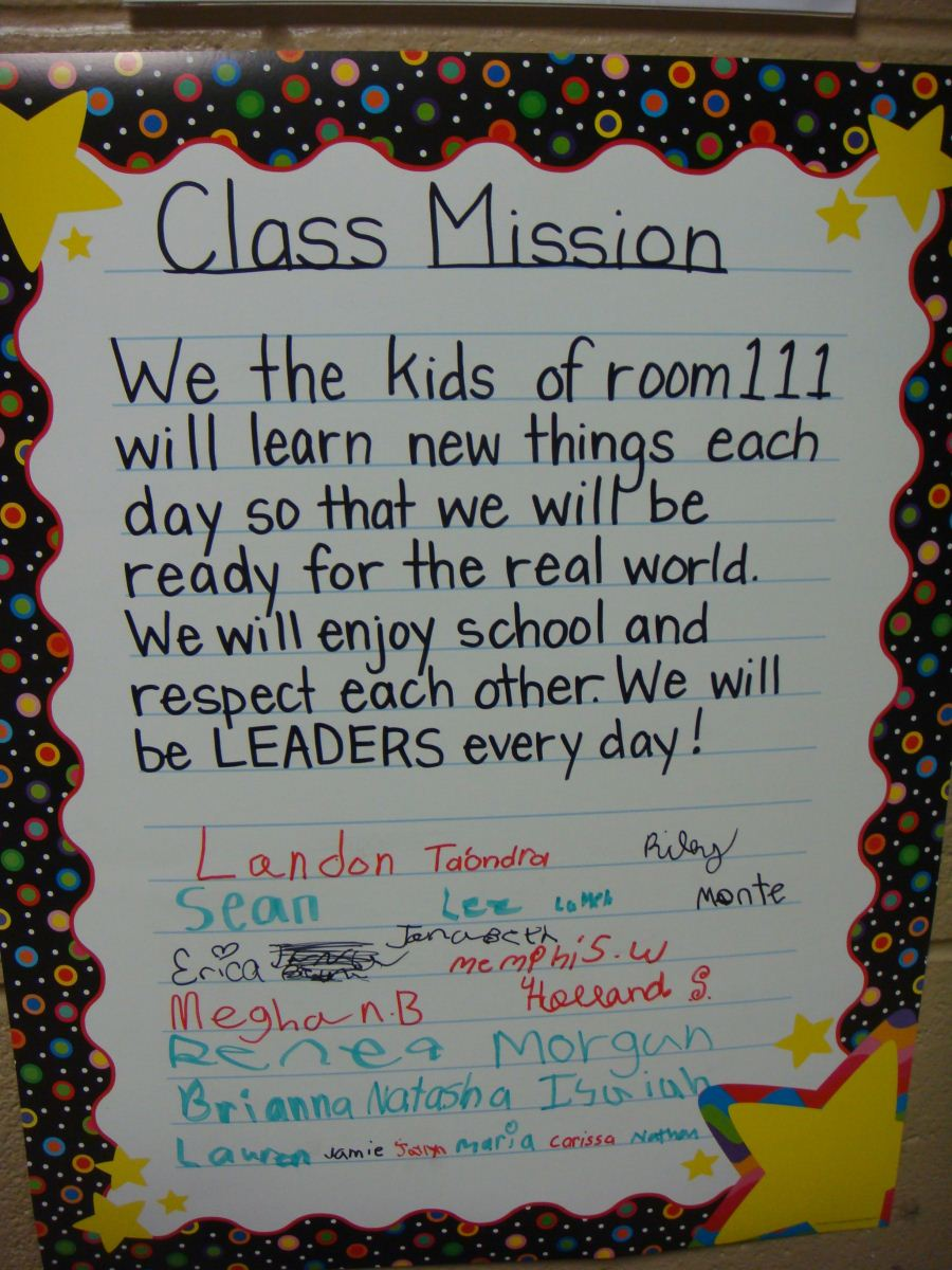 daycare mission statements