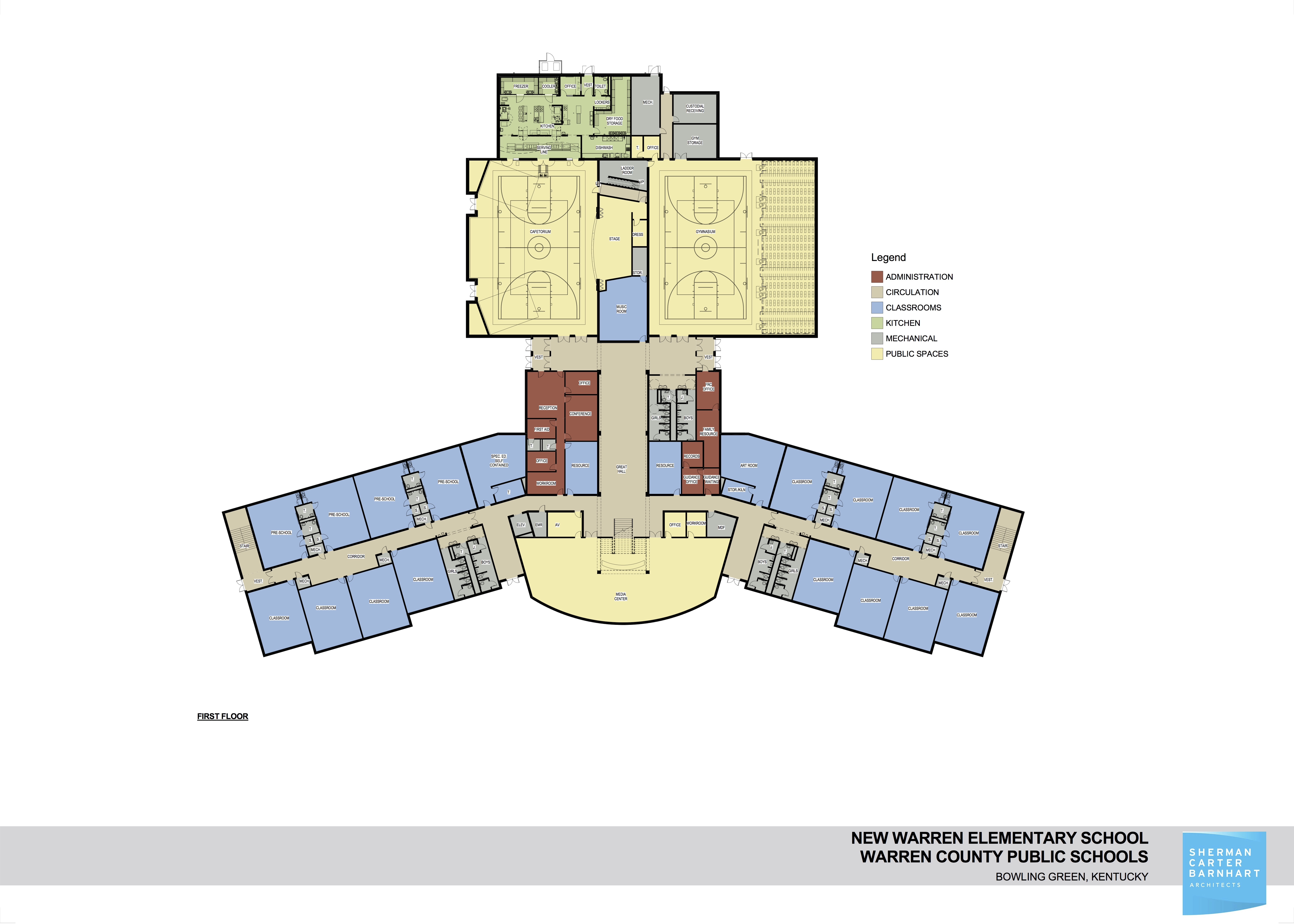 New school floorplan