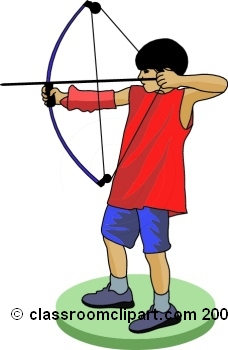 Kids Archery Clipart Images & Pictures - Becuo