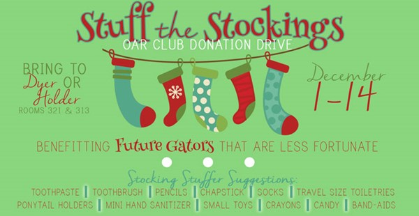Stuff the Stockings - Greenwood High School